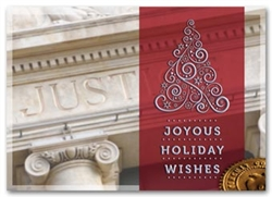 Classic Appeal Attorney Holiday Greeting Cards