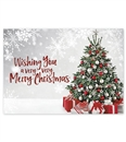 Extra Cheer Christmas Greeting Holiday Cards