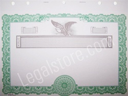 Goes® Corporate Stock Certificates KG6