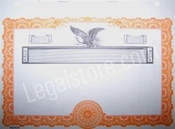 Goes® Corporate Stock Certificates KG8