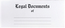 Legal Document Envelope, Marble Crush