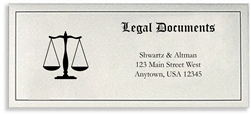 Legal Document Envelope, Customized