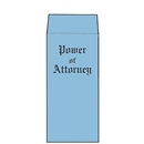Blue Wove Power of Attorney Envelopes