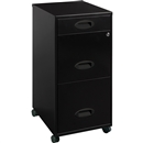 "Lorell SOHO 18"" 3-Drawer File Cabinet"