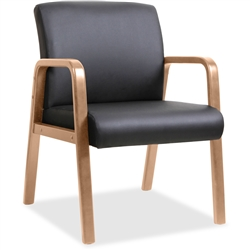 Lorell Guest Chair - Walnut