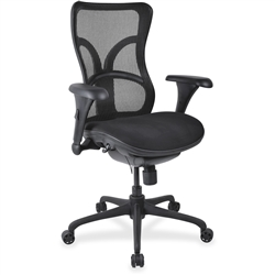 Lorell High-back Fabric Seat Chairs - Color Options