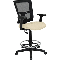 Lorell Breathable Mesh Drafting Stool - Color Options