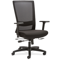 Lorell Mesh High-back Seat Slide Chair