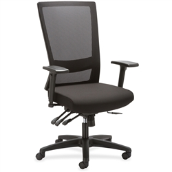 Lorell Asynch Control High-back Mesh Chair
