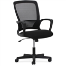 Lorell Sandwich Seat Mesh Mid-back Chair