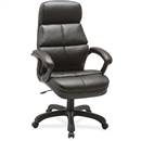 Lorell Luxury High-back Leather Chair