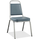 Lorell 8925 Vinyl Upholstered Stacking Chair
