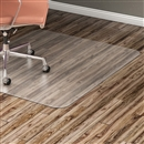"Lorell Hard Floor 60"" Rectangular Chairmat"