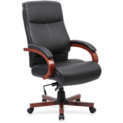 Lorell Executive Chair - Cherry
