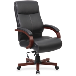 Lorell Executive Chair - Mahogany