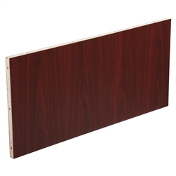 Lorell Modular Mahogany Conference Table Modesty Panel