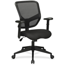 Lorell Executive Mesh Mid-Back Chair