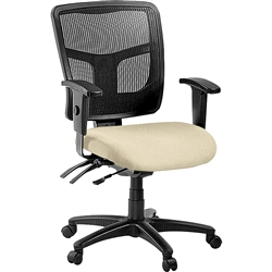 Lorell Managerial Mesh Mid-back Chair - Color Options