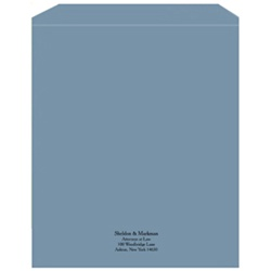 Manuscript Covers, Letter Size Custom Printed