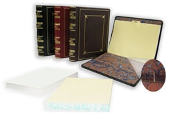 Regal Leather Post Binder Minute Book, Letter Size