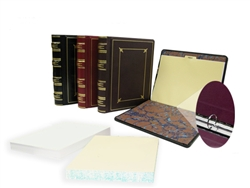 Regal Leather 3 Ring Custom Minute Books