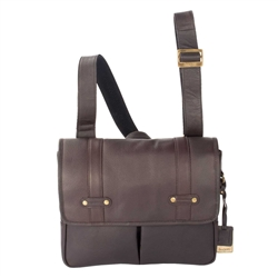 Colombian Leather Messenger Bag