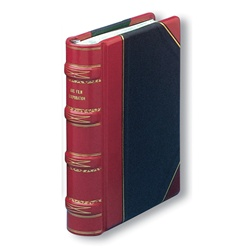 Hylson Minute Book Three Quarter Bound Leather