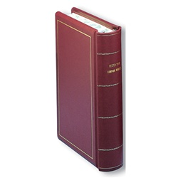 Hylson Minute Book Full Imitation Leather