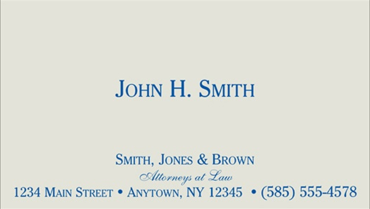 Classic linen or laid thermographed business cards colourmoves