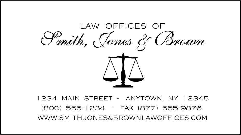 White linen business cards alternative views colourmoves