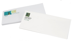 Full Color Raised Print Envelopes, Choice of stock