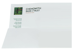 Full Color Raised Print Letterhead, Choice of stock