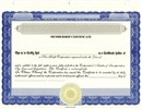 Stock Certificates for Membership & Non-Profit Organizations