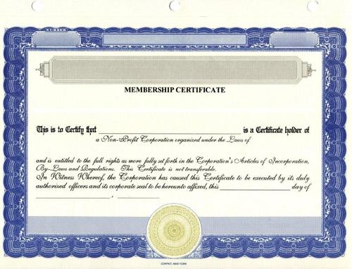 Llc Membership Certificate Template - Hlwhy