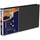 "Legal Binder With Slant-D® Ring, 1"", 14"" X 8-1/2"", Black, 3-Ring"