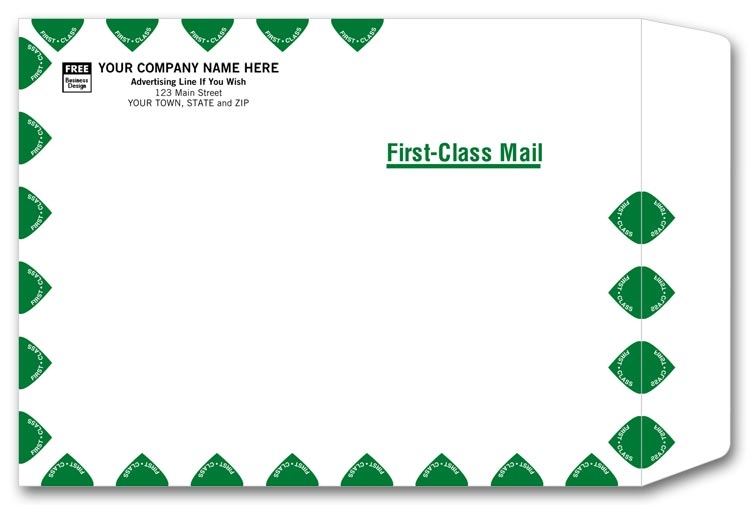 First Class Envelope Postage Rate