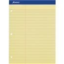 Letter Size Perforated 3 Hole Punched Ruled Double Sheet Pads