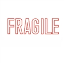 Stock Stamp FRAGILE