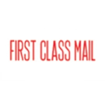 Stock Stamp FIRST CLASS MAIL