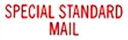 Stock Stamp SPECIAL STANDARD MAIL
