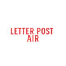 Stock Stamp LETTER POST AIR