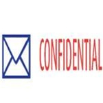 Two-Color Stock Stamp CONFIDENTIAL
