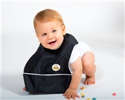 Oversize bib for baby or toddler