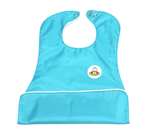 Neatnik® Slide Bib- Aqua Blue