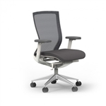 iDesk Oroblanco Coal Mesh Task Chair 402W by Cherryman