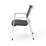 iDesk Oroblanco Guest Chair 403W by Cherryman