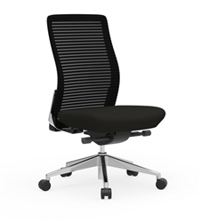 Cherryman Eon Armless Mesh Back Task Chair 411B