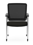 2 Pack of Cherryman Eon Mesh Back Guest Chairs 414B