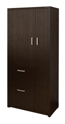 Amber Series Executive Wardrobe Cabinet A560 by Cherryman