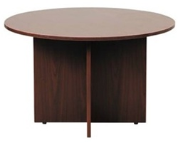 "Amber Collection 42"" Round Conference Table A726 by Cherryman"